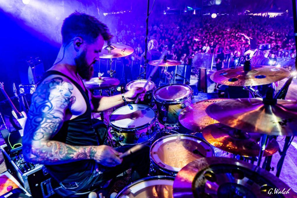 Friendly Elf Band Heilbronn Stuttgart Ludwigsburg Tino Calmbach Schlagzeug Drums Menschenmenge Haigern Live Party
